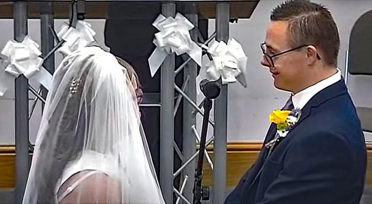 Una pareja con síndrome de Down se casa luego de meses de espera: en la boda
