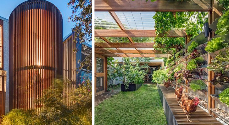 Ein Paar verwandelt ein altes Haus in eine autarke Wohnstätte: Sie produziert Energie, Nahrung und Wasser