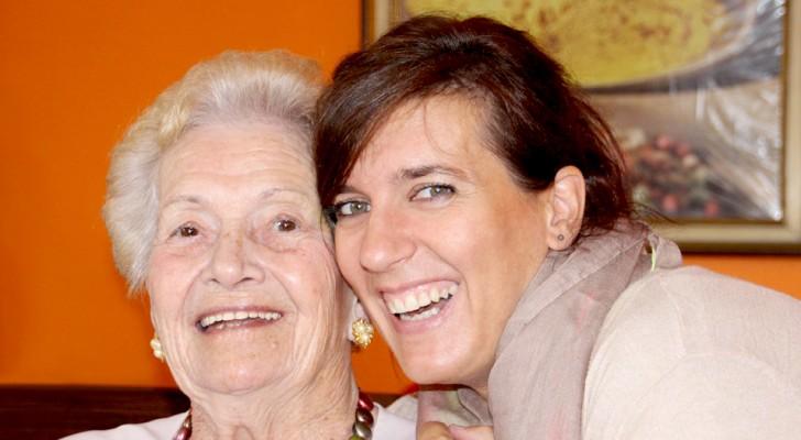 Les grands-mères sont des personnes importantes : elles peuvent vous aider à sourire même dans les moments les plus tristes