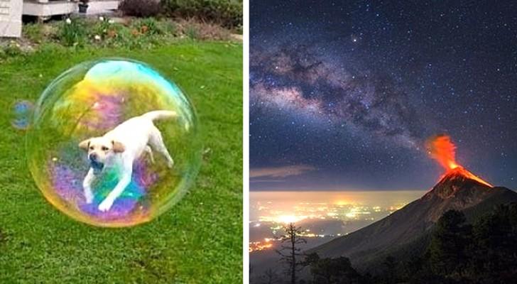 13 foto's zonder filters waarin de realiteit elke optische illusie heeft overwonnen
