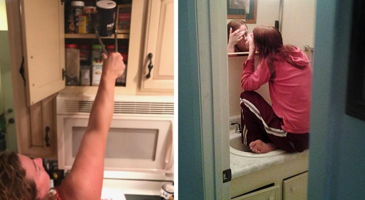 12 Fotos zeigen all die Probleme, mit denen kleine Frauen Tag für Tag konfrontiert werden