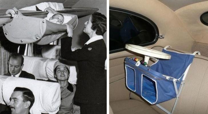 Wiegen und Kinderwagen der Vergangenheit: 13 Vintage-Fotos zeigen einige der merkwürdigsten Lösungen