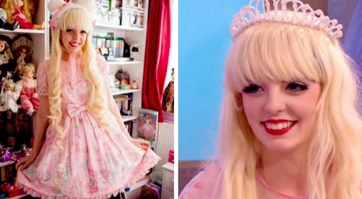 Esta garota gastou US$ 25.000 para parecer com uma boneca - uma história de dor e coragem