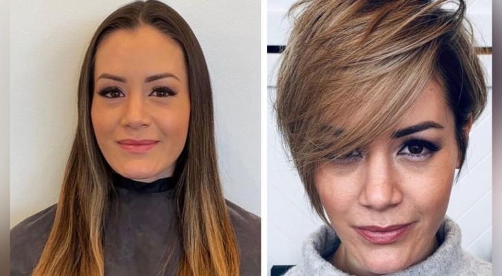 11 Frauen, die ihren Look mit einem neuen Haarschnitt radikal verändert haben
