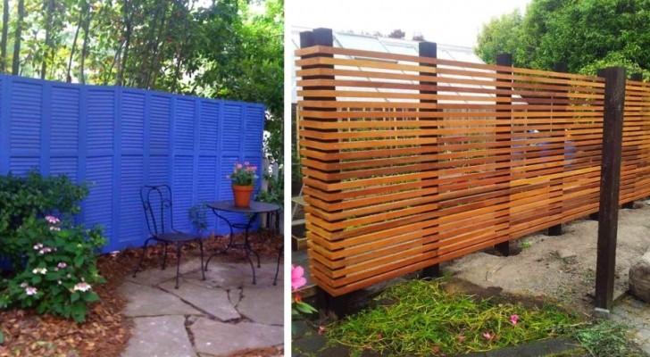 11 fantastiques clôtures et grillages en bois, métal ou brique