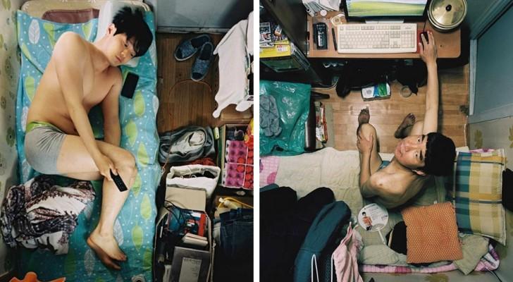 Was es bedeutet, in einem 4 m² großen Raum in Südkorea zu leben: davon zeugt die Arbeit dieses Fotografen