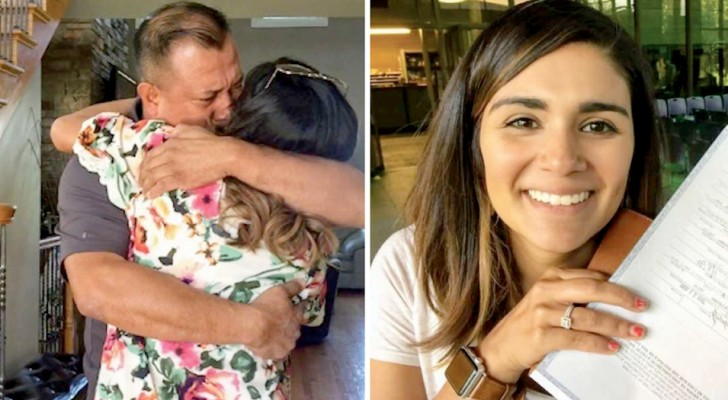 She was given up for adoption at birth: after 10 years of searching she found the parents and siblings she didn't know she had