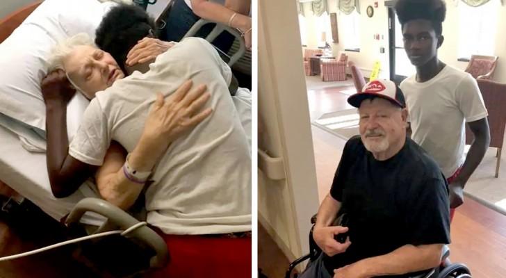 Deze 15-jarige jongen zorgt voor zijn bejaarde buren alsof het zijn grootouders zijn