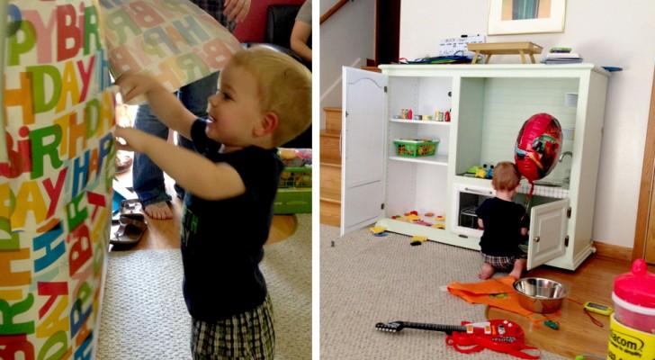 Ils se moquent de son fils de 2 ans parce qu'il joue avec une cuisinière : le père dit