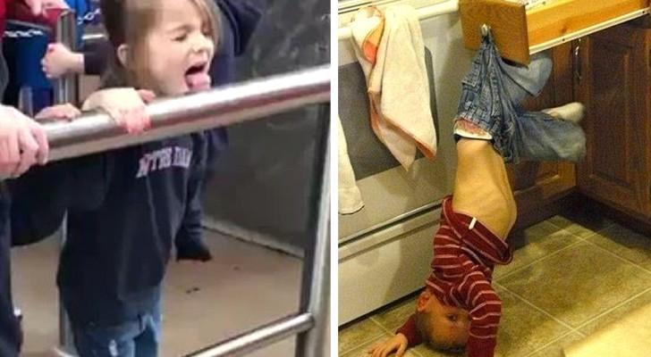 14 keer waarin kinderen het geduld van volwassenen op de proef hebben gesteld met rommel en kleine rampen
