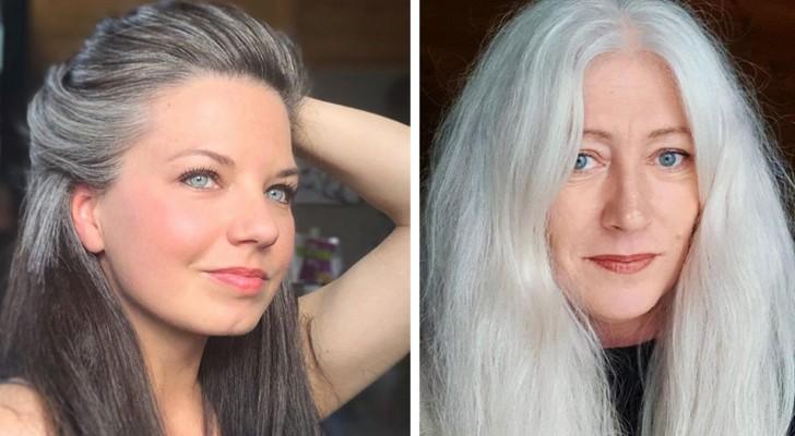 Ein ganzer Instagram-Account feiert die Schönheit von Frauen, die beschlossen haben, ihre weißen Haare zu zeigen