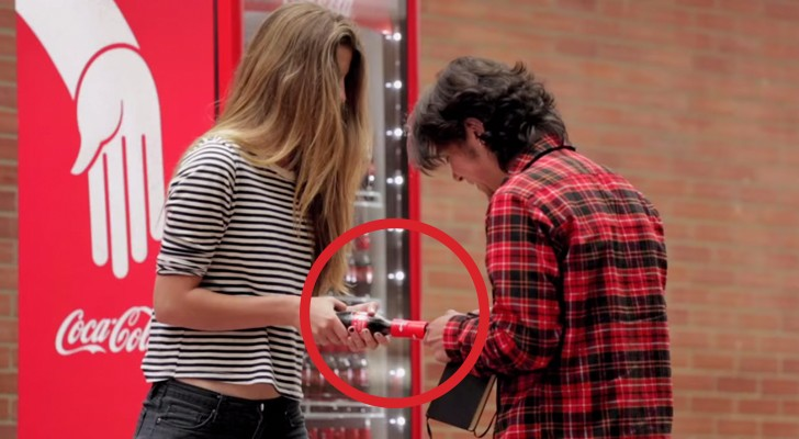 These shy students take a coke, but the bottle holds a surprise!