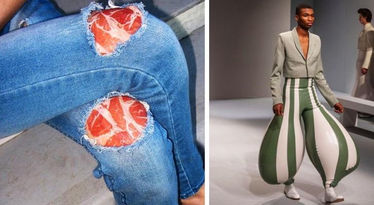 13 vêtements de haute couture vraiment bizarres qui montrent que parfois les stylistes vont trop loin