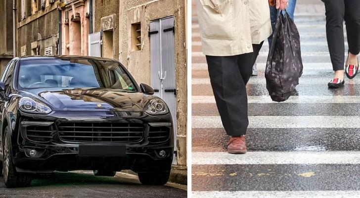 Quanto mais caro o carro, menos respeito e empatia com os pedestres, é o que sugere um estudo
