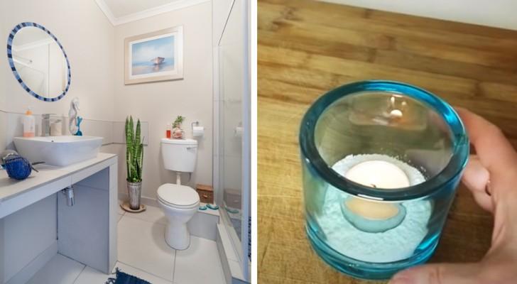 Algunos simples trucos para perfumar un baño sin ventanas