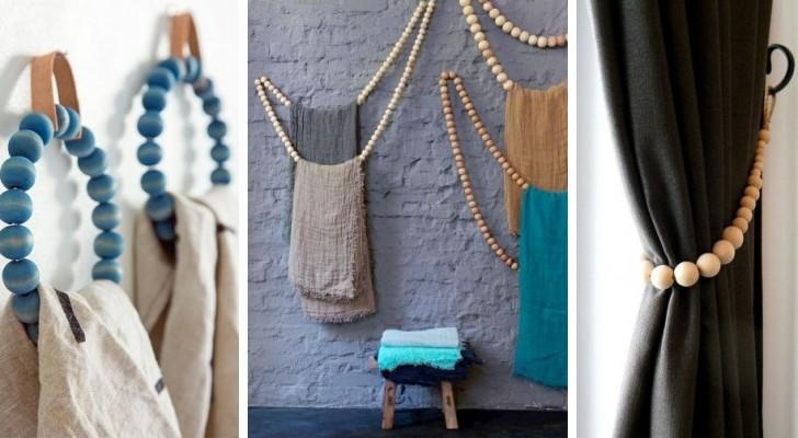 11 spunti per sfruttare le perle di legno creando decorazioni belle e utili per la vostra casa