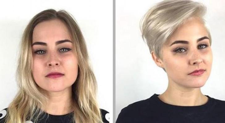 """11 meisjes die besloten hebben om """"de schaar te zetten"""" in de eentonigheid door prachtig kort haar te dragen"""