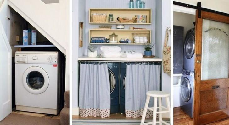 9 ingegnose soluzioni d'arredo per nascondere la lavatrice senza rinunciare all'estetica