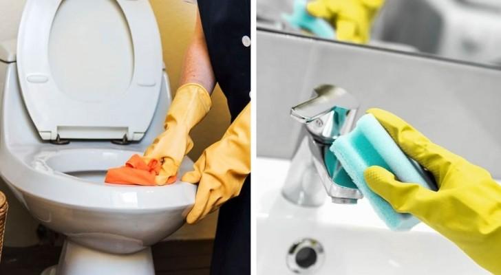 I migliori metodi fai-da-te per occuparsi velocemente della pulizia di tutto il bagno