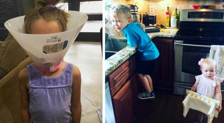 10 foto's laten zien dat het leven met een broer of zus veel levendiger is