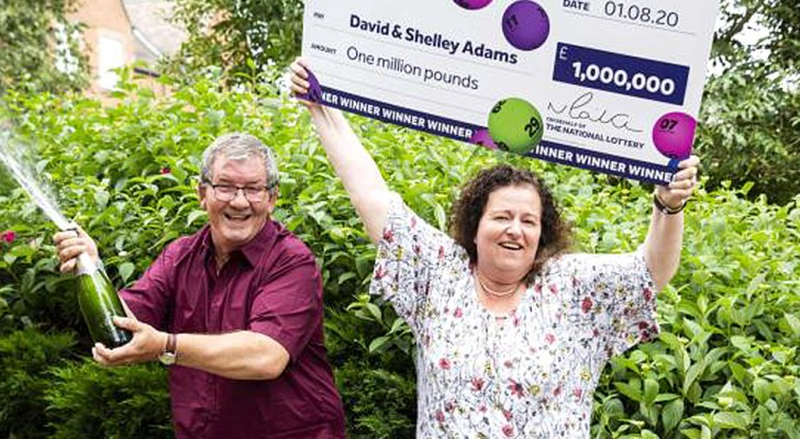 A worker is fired, but the next day he wins the lottery and becomes a millionaire