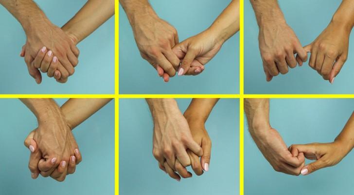 La façon dont vous et votre partenaire vous tenez la main peut révéler quelque chose sur votre relation
