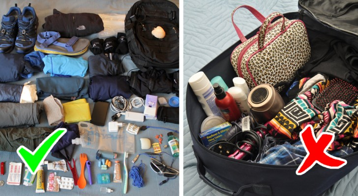 10 Tipps, um die Koffer clever zu packen und lästige Unannehmlichkeiten zu vermeiden