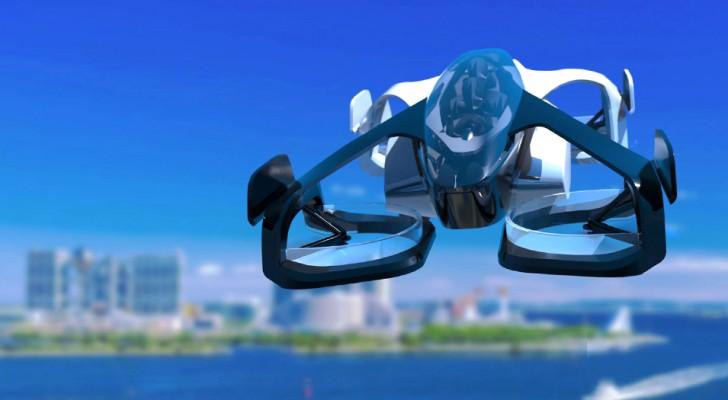Fliegende Autos werden in Japan endlich Realität...