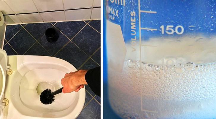 Vaarwel vlekken en kalkaanslag: hoe het toilet te reinigen met natuurlijke producten en het terug te laten keren naar zijn oorspronkelijke kleur
