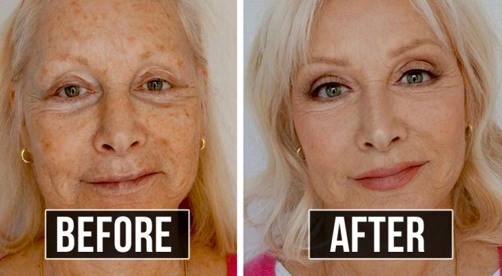 12 nicht mehr ganz junge Frauen, die beschlossen haben, ihr Aussehen dank professionellem Make-up zu transformieren