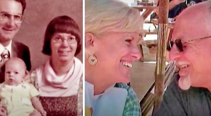 Dan al hijo en adopción pero se casan nuevamente 38 años después, reuniendo de nuevo a toda la familia
