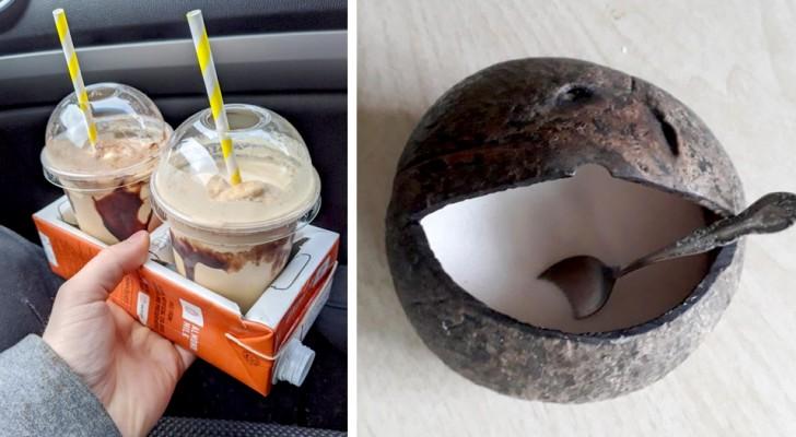 13 kreative Recycling-Ideen, die zeigen, dass nicht alles in den Mülleimer geworfen werden sollte