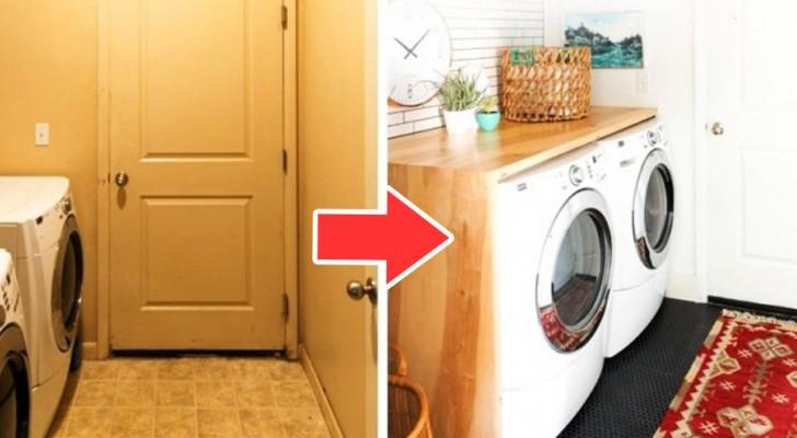 7 idées étonnantes pour transformer le coin buanderie de votre maison en un espace beau et fonctionnel