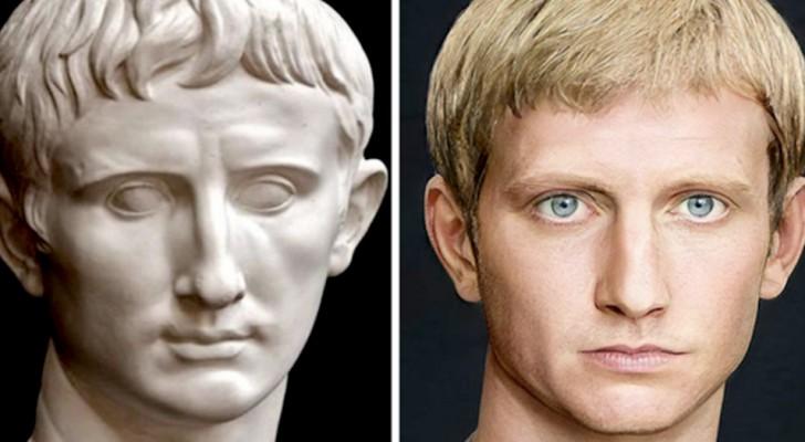 Römische Kaiser, wie Sie sie noch nie gesehen haben: Ein Student stellt die Gesichter dieser historischen Figuren nach