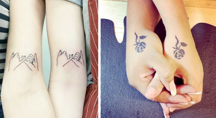 12 berührende Tattoos, die das Band zwischen Schwestern auf die originellste Weise zelebrieren