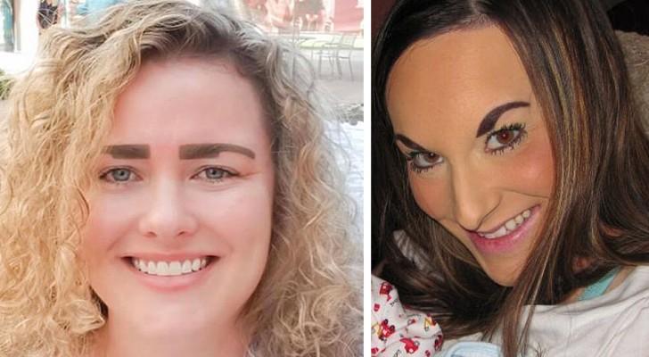 10 mulheres que pediram para os maquiadores para terem lindas sobrancelhas e obtiveram resultados questionáveis