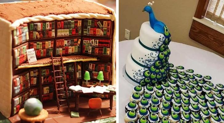 Les pâtissiers qui mériteraient un prix pour leur imagination : 11 gâteaux au design imprévisible