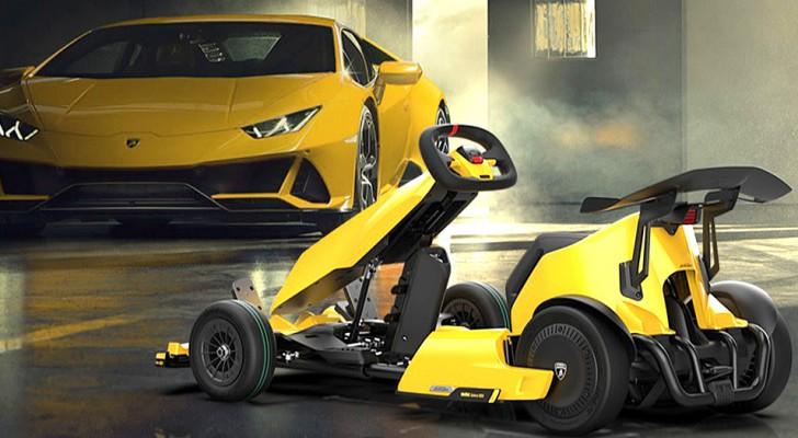 Lamborghini presenta un esclusivo go-kart elettrico che costa meno di 1500 dollari