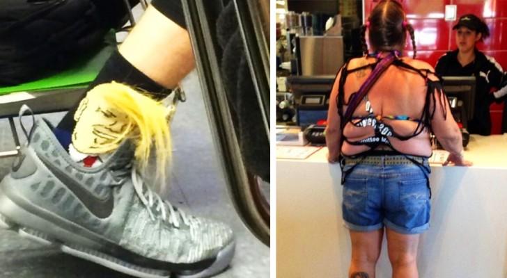 12 exemples de vêtements ridicules que les gens ont eu le courage de porter quand même