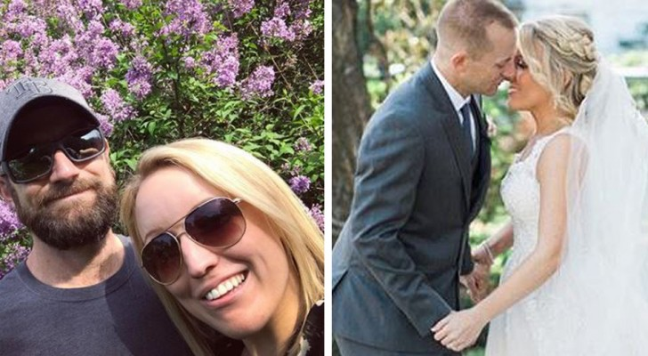 A woman who survived her ex's violence marries her rescuer and gives us all a lesson about life