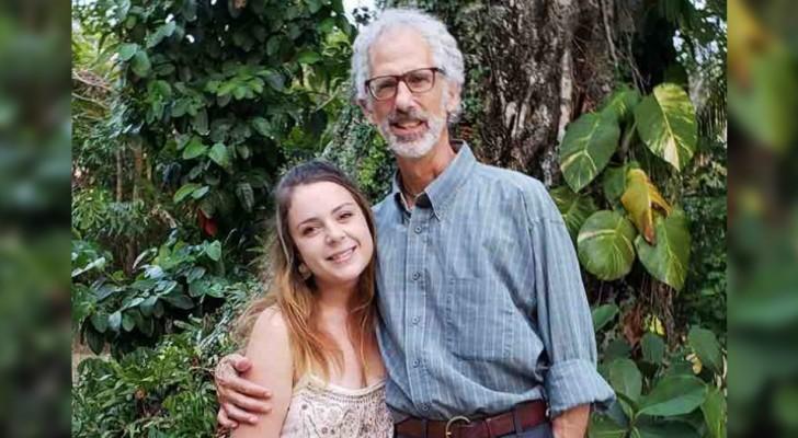 Uma jovem de 22 anos se casa com um homem de 63: a história de um amor que não conhece limites de idade