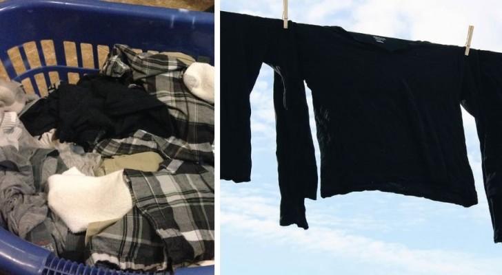 Quelques conseils efficaces pour laver au mieux vos vêtements foncés, en utilisant aussi le vinaigre