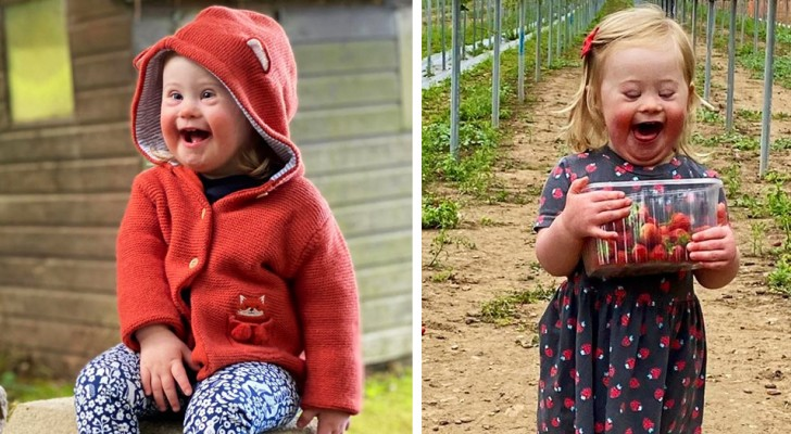 Den här söta lilla flickan med Downs syndrom jobbar redan som modell, vid enbart 2-års ålder blir hon en symbol för inkludering