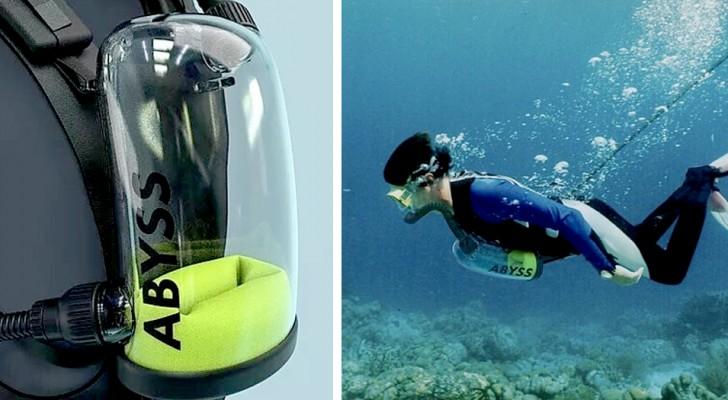 Exolung, il respiratore subacqueo che fornisce ossigeno illimitato a chi ama fare immersioni
