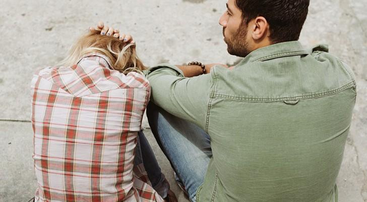 En kvinna begär skilsmässa från sin man för att han inte bråkar med henne: