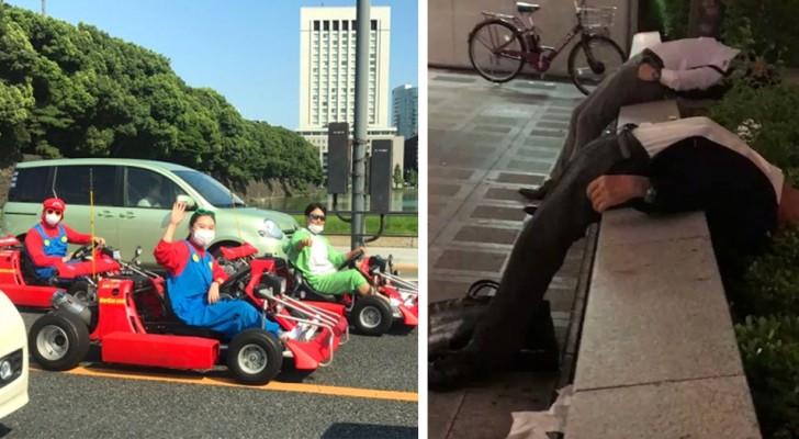 Stranezze dal Giappone: 18 foto mostrano i comportamenti più bizzarri di un paese curioso e all'avanguardia