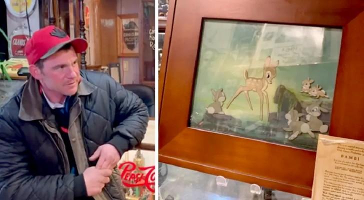 Scopre che il senzatetto gli ha venduto un quadro prezioso: lui lo rintraccia per rimediare
