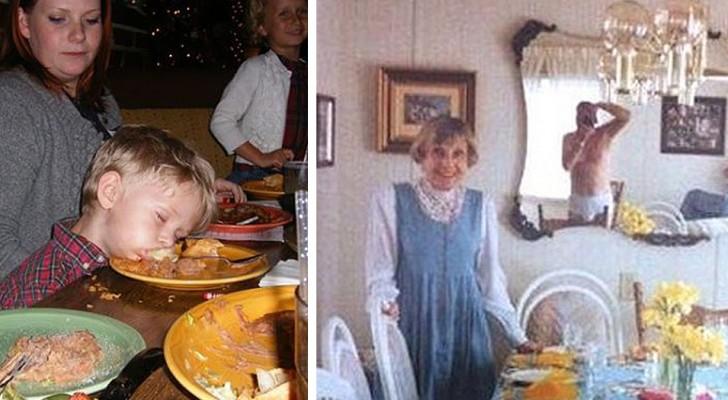 Deze mensen lieten iedereen hun grappigste en meest gênante familiefoto's zien