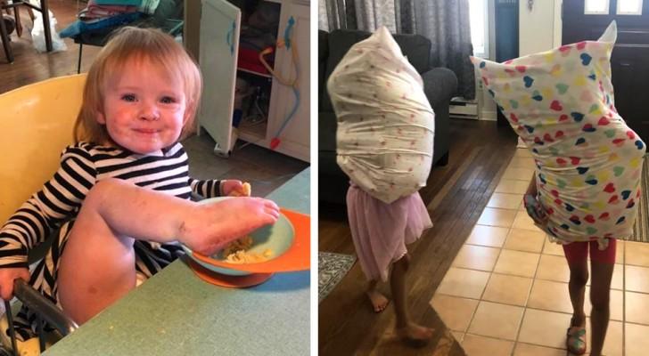 15 okontrollerbara barn som visar vad som kan hända om en förälder är distraherad