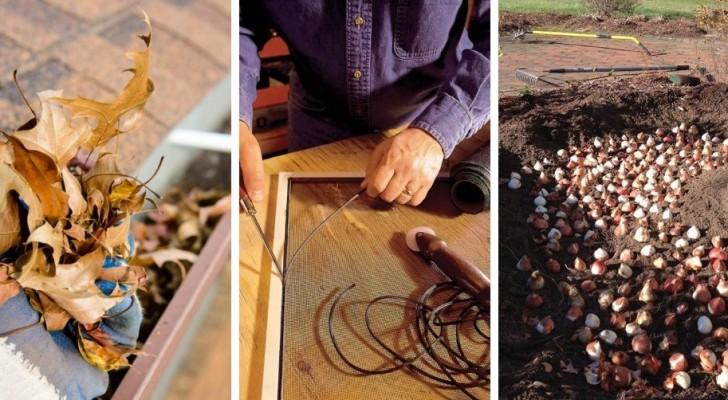 14 lavori di manutenzione domestica di cui è bene occuparsi durante l'autunno
